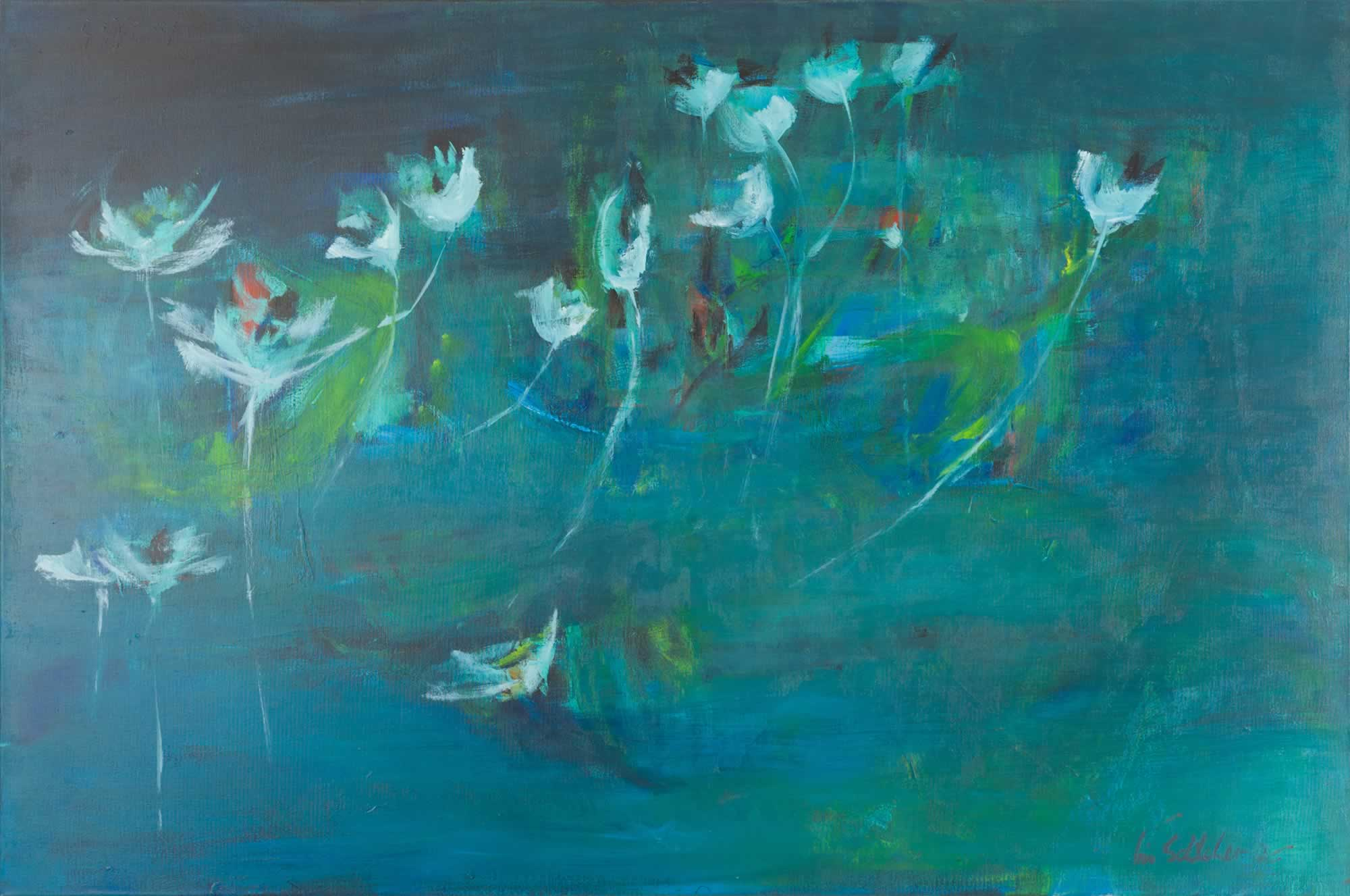 Iris Schilcher - Wasserpflanzen