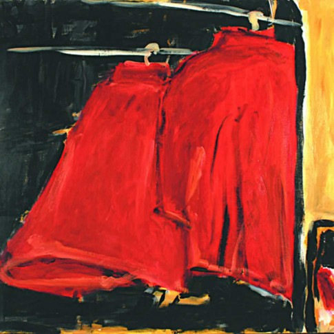 Rote Jacken