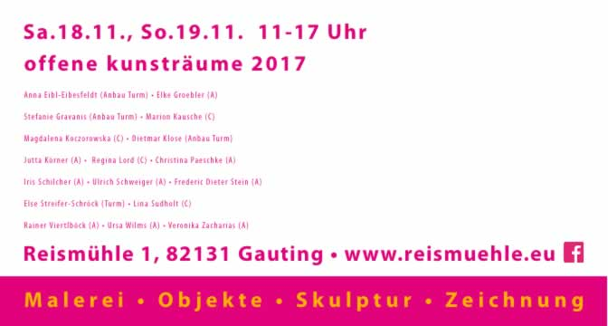 Iris Schilcher - Offene Kunsträume
